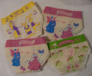 Vtg Toy Doll Baby Diapers Pampers Disney Snow White Cinderella Alice Wonderland