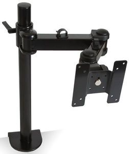 PC Computer LED LCD Monitor Desk Mount Stand Heavy Duty Adjustable Vesa 75 100