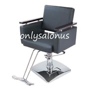 Hydraulic Styling Barber Chair Salon Equipment Damaged