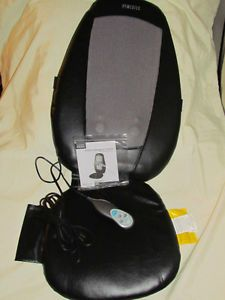Homedics SBM 150 Therapist Select Shiatsu Back Massage Cushion Chair Seat
