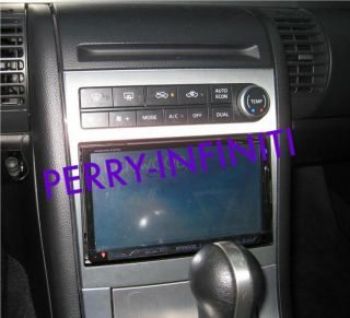 JDM Infiniti Nissan Skyline G35 Double DIN Dash Kit with Dual Zone AC Control