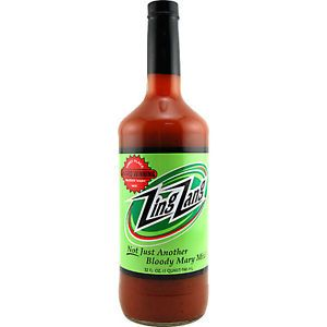 Zing Zang Bloody Mary Mix 32oz Bottle Cocktail Flavor Tomato Bar Drink Mixer
