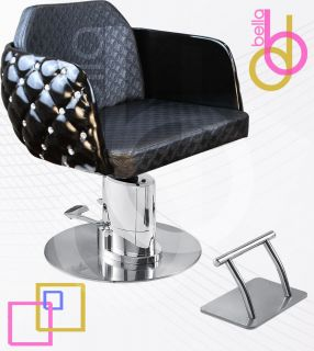 Salon Beauty Styling Chair Automatic Power Lift Barber Equipment D Cute B