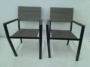 Hampton Bay Northridge Patio Dining Chair 2 Pack