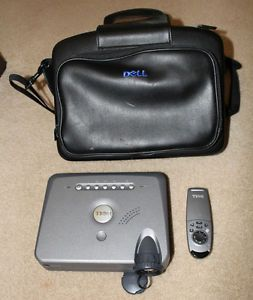 Dell 3100MP DLP Multimedia Home Theater Projector w Carrying Case for Parts