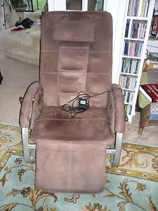 Homedics Destress Spa Recliner Massage Inversion Chair