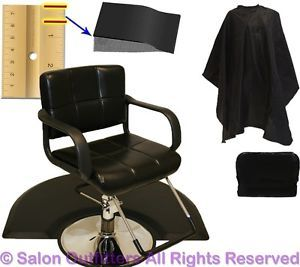 "New 4"" Foam Hydraulic Barber Chair Anti Fatigue Mat Hair Beauty Salon Equipment"