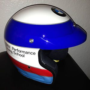BMW M Performance Driving School Custom Painted Impact Velocity Race Helmet