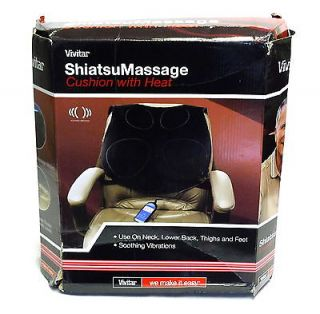 Vivitar Shiatsu Massage Cushion with Heat