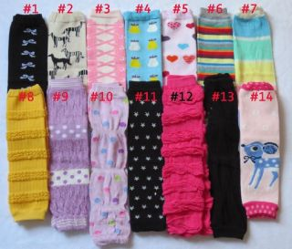 U Pick 14 Styles Socks Tight Baby Legs for Girl Boy Kids Warmer Colorful
