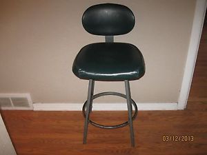 Vintage Industrial Machine Age Interroyal Chair Stool Metal Legs