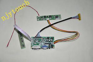 LVDS VGA DVI Controller Board DIY 1920x1080 AUO M215HW02 V0 LED LCD Screen Panel