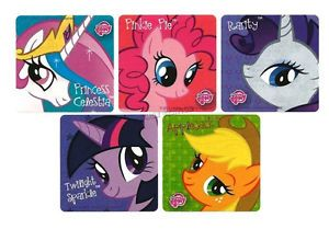 15 My Little Pony Stickers Kids Girls Party Goody Loot Bag Filler Favor Supply