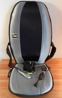 Homedics SBM 300 Therapist Select Shiatsu Chair Cushion Back Massager Massaging