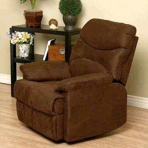 Cocoa Lazy Boy Home Theater Recliner Chair Sofa Couch Living Room Seat Relax