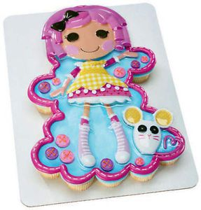 5pc Lalaloopsy Cake Cupcake Topper Girl Birthday Party Decorations