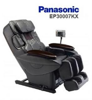 Black Panasonic EP30007KX Real Pro Ultra w Advanced Quad Style Massage Chair