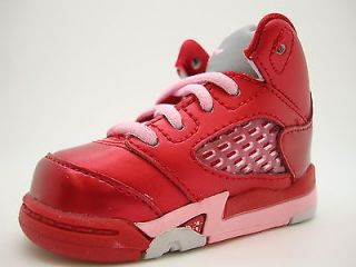 440890 605 Baby Toddlers Air Jordan 5 V Retro TD Gym Red ion Pink Valentine QS