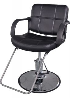 New Classic Hydraulic Barber Chair Salon Beauty Spa Shampoo Black 8837