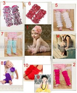 SHN Cute Baby Toddler Girl Lace Leggings Leg Warmers Arm Warmers A2016