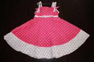 RARE Editions Easter Girls Toddler Pink Boutique Dress PC Set Outfit Clothes 4T