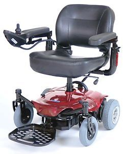 Cobalt x23 Red Power Chair Electric Wheelchair Rear Wheel Drive Scooter 21AH