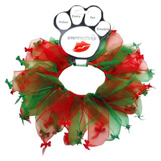 Party Christmas Bones Pet Dog Collar