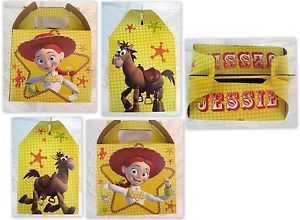 Toy Story Jessie Party Decoration Boxes Gable Bags Supplies Birthday x12 Treats