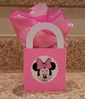 10 Minnie Mouse Goodie Bags Box Candy Bags Party Favors