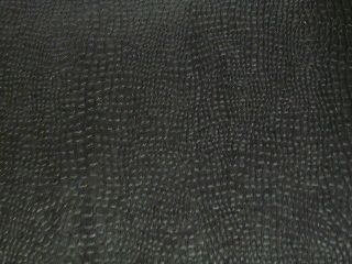 Black Leather Look Gift Wrapping Paper