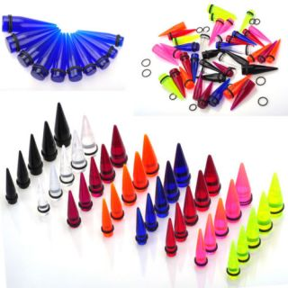 Wholesale Mix Spiral Taper Ear Plugs expender Kit Stretcher Gauge Body Piercing