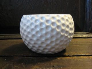 Golf Ball Shaped Planter Vase Sports Golf Theme Party Centerpiece Decoration