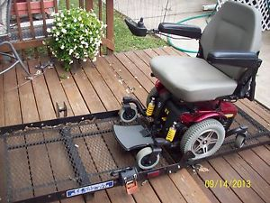 Heavy Duty Power Chair Jazzy 614 H D with EZ Carrier Hitch