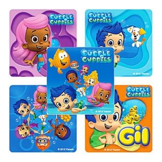 25 Pack Bubble Guppies Stickers Kid's Birthday Party Favors