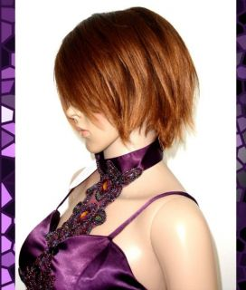 Cosplay Brown Costumes Fancy Dress Party Hair Wigs FF68