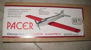 New Vintage Ace R C Pacer Airplane Kit RC USA Balsa Foam 1 2A Pattern SHIP