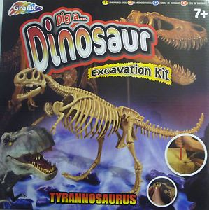 Graffix Dig A Dinosaur T Rex Tyrannosaurus Rex Excavation Kit Educational Toy