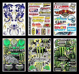 Metal Mulisha Racing Logo Sticker Decal Motocross Extreme Sport Skateboard Bike
