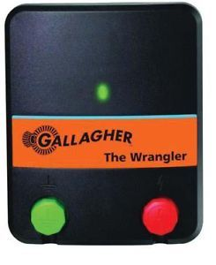 New Gallagher Wrangler Electric Fence Charger Energizer