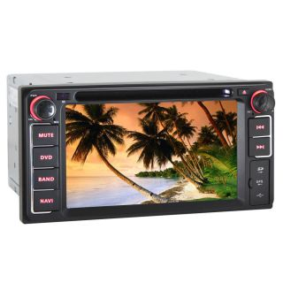 Toyota Corolla 2 DIN in Dash Car DVD GPS Head Unit Camry Tundra Highlander VIOS