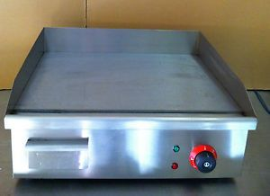 New Electric Griddle Hotplate Commercial Burger Grill Bacon Egg Fryer 400mm Sale