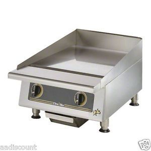 "New Star Ultra Max 24"" Manual Gas Flat Grill Griddle 824M"