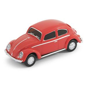 Classic VW Beetle Car USB Memory Stick Flash Pen Drive 8GB Red
