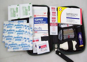 ★ First Aid Kit Glove Box Kit 40pc Emergency Car Kit ★new Reusable Boat RV