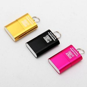 2013 New High Speed Mini USB 2 0 Micro SD TF T Flash Memory Card Reader Adapter