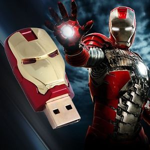New Iron Man 8GB High Speed USB Flash Pen Stick Thumb Drive Memory for USB 2 0