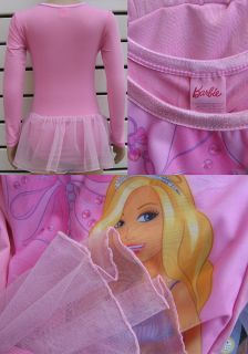 New Baby Girls Toddler Kids Barbie Tutu Leotard Ballet Dance Dresses Pink 2T 7T