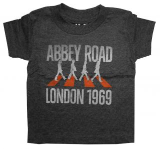 The Beatles Abbey Road London 1969 Life Clothing Rock Band Toddler T Shirt Tee