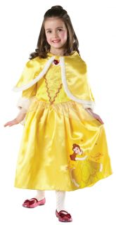 Disney Princess Girls Winter Wonderland Fancy Dress Kids Childrens Costume 3 8 Y