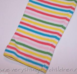 Girls Gymboree Happy Rainbow Leggings 3T Stripe
